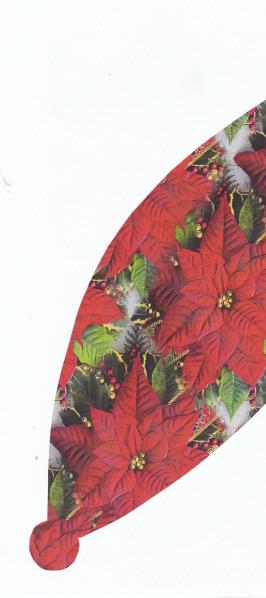 .Christmas Bauble - Poinsettia 01 - 6 Sizes to Download