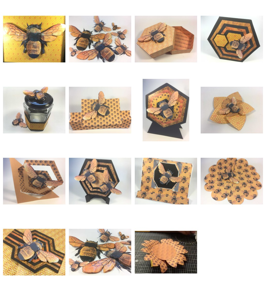 Bee Set - Includes 15 Fantastic Projects - Over 200 Pages to Download
