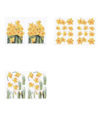 GET CREATIVE 17/03/18 FREE DOWNLOAD - Daffodil Project - 3 x A4 Pages to Download