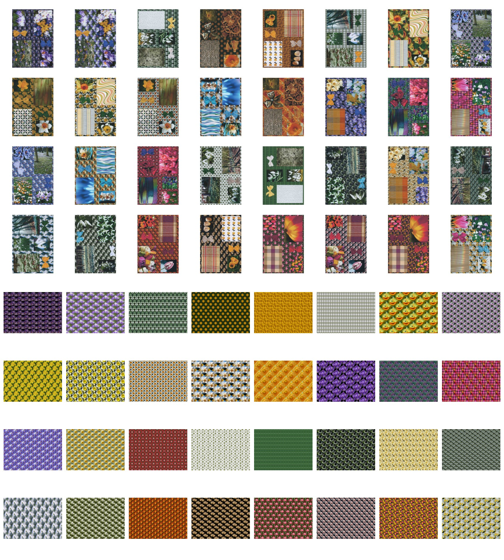 64 x A4 Assorted Springtime All-in-One Sheets DOWNLOAD