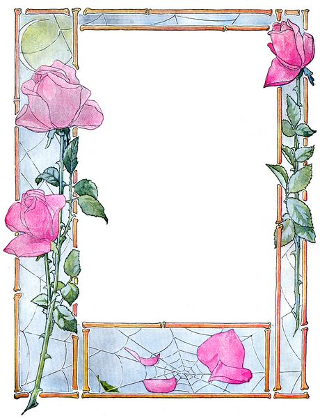 Elegant Floral Frames Set Download - 24 Pages