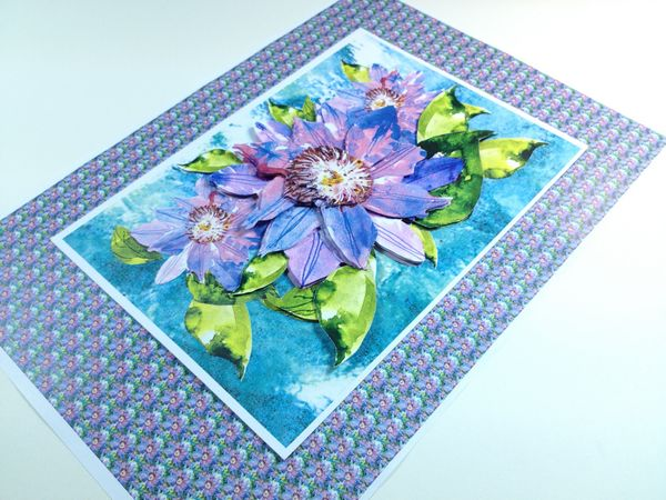 Captivating Clematis Project - 10 Pages to Download
