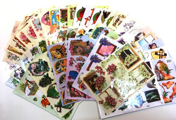 VERY LIMITED - ONE TIME ONLY LUCKY DIP - 50 x A4 TBZ LUXURY DECOUPAGE