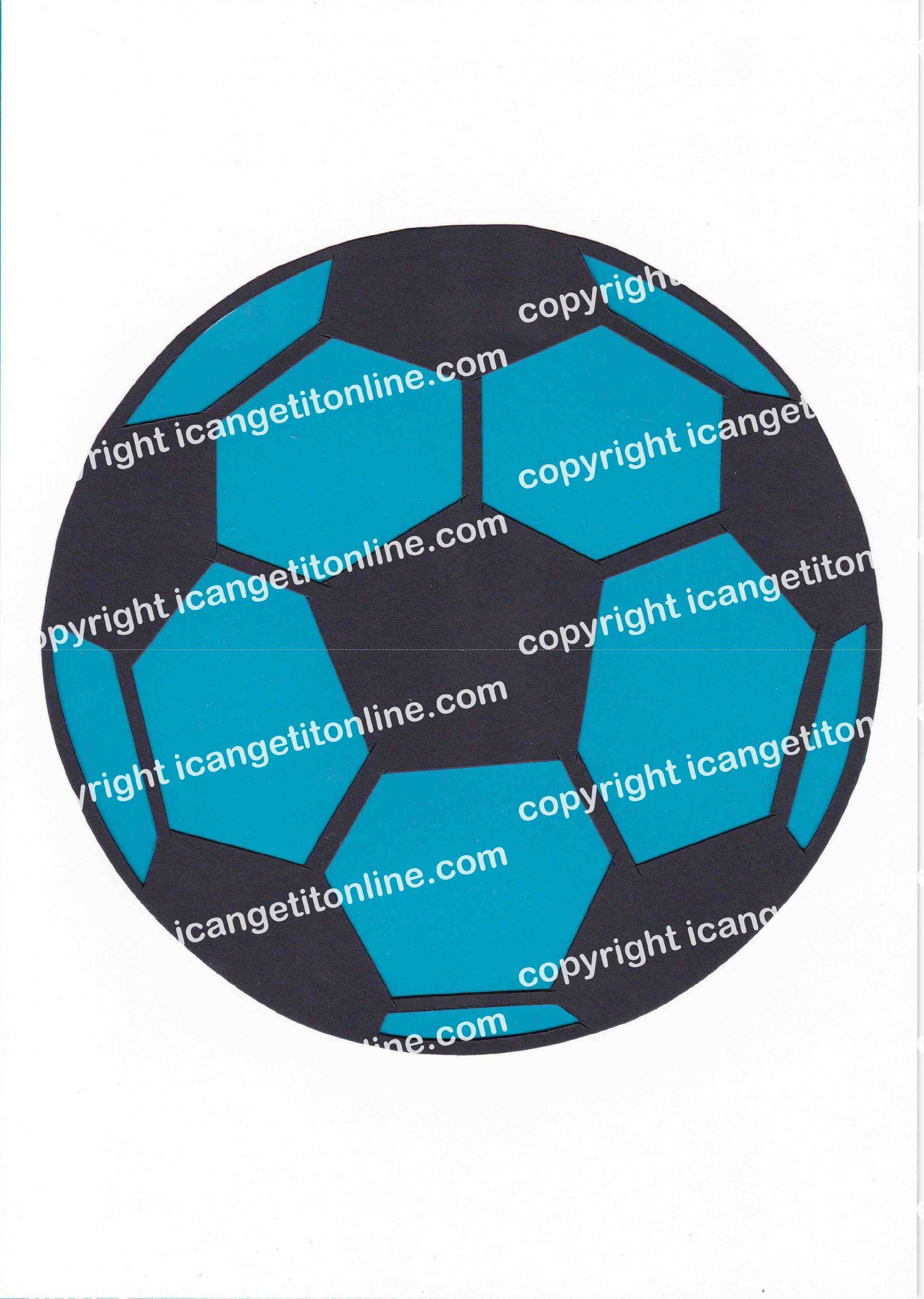 Football Set - Blue Strip - <B>WATERMARK NOT ON PURCHASED SET</B> 300 Pages to DownloadOver 300 Pages to Download