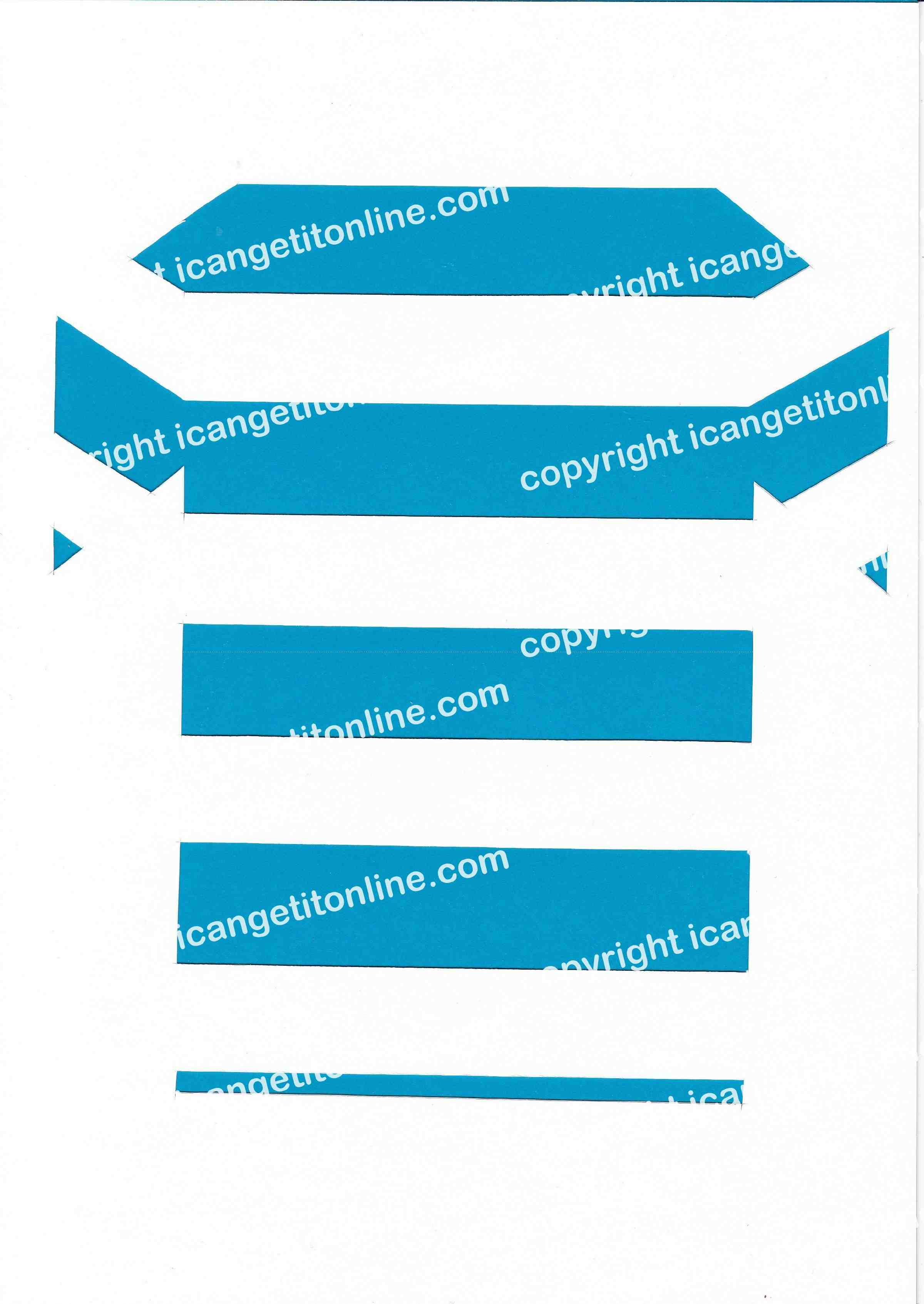 Football Set - Blue and White Horizontal Strip - <B>WATERMARK NOT ON PURCHASED SET</B> 300 Pages to Download