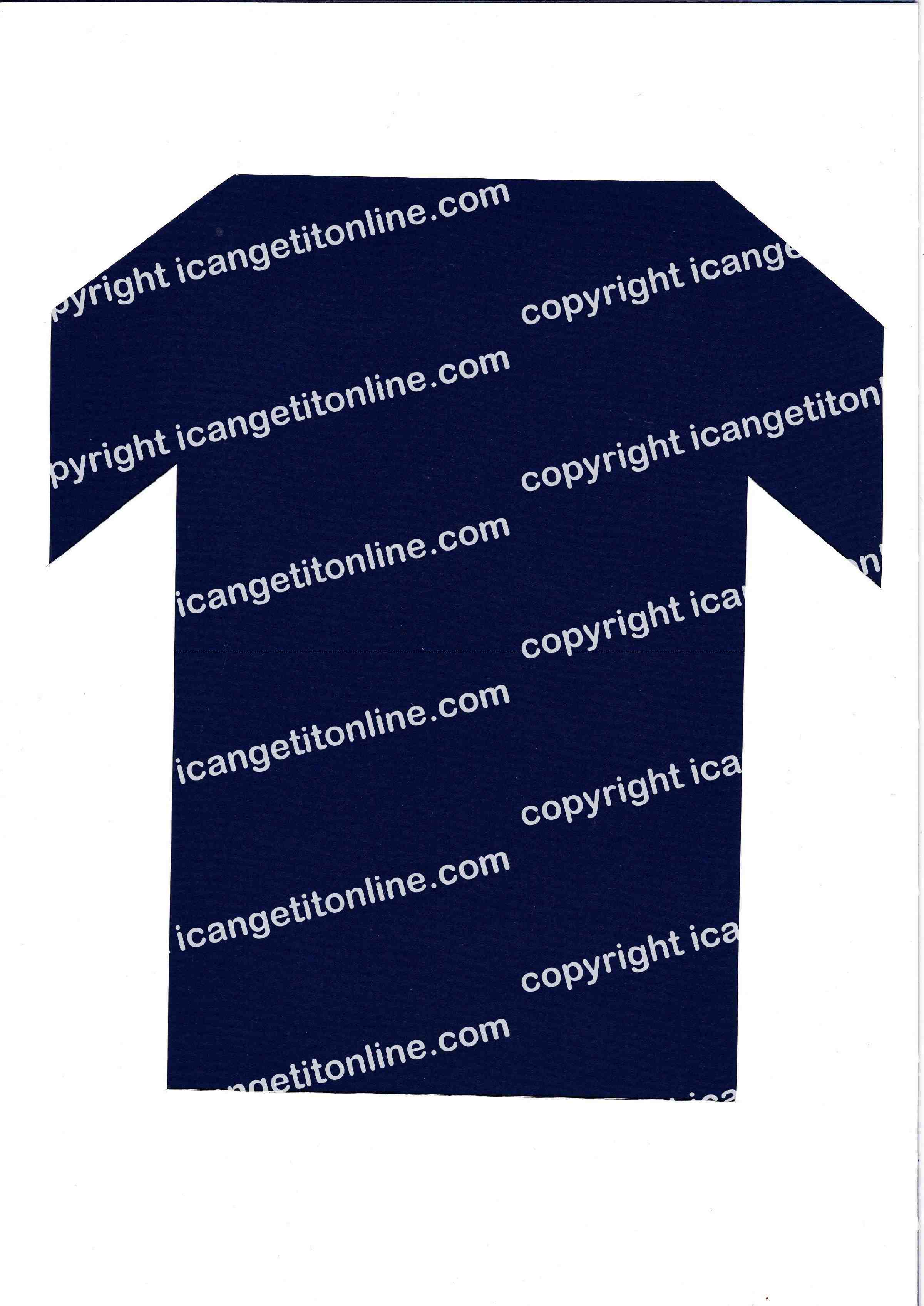 Football Set - Royal Blue Strip - <B>WATERMARK NOT ON PURCHASED SET</B> 300 Pages to Download