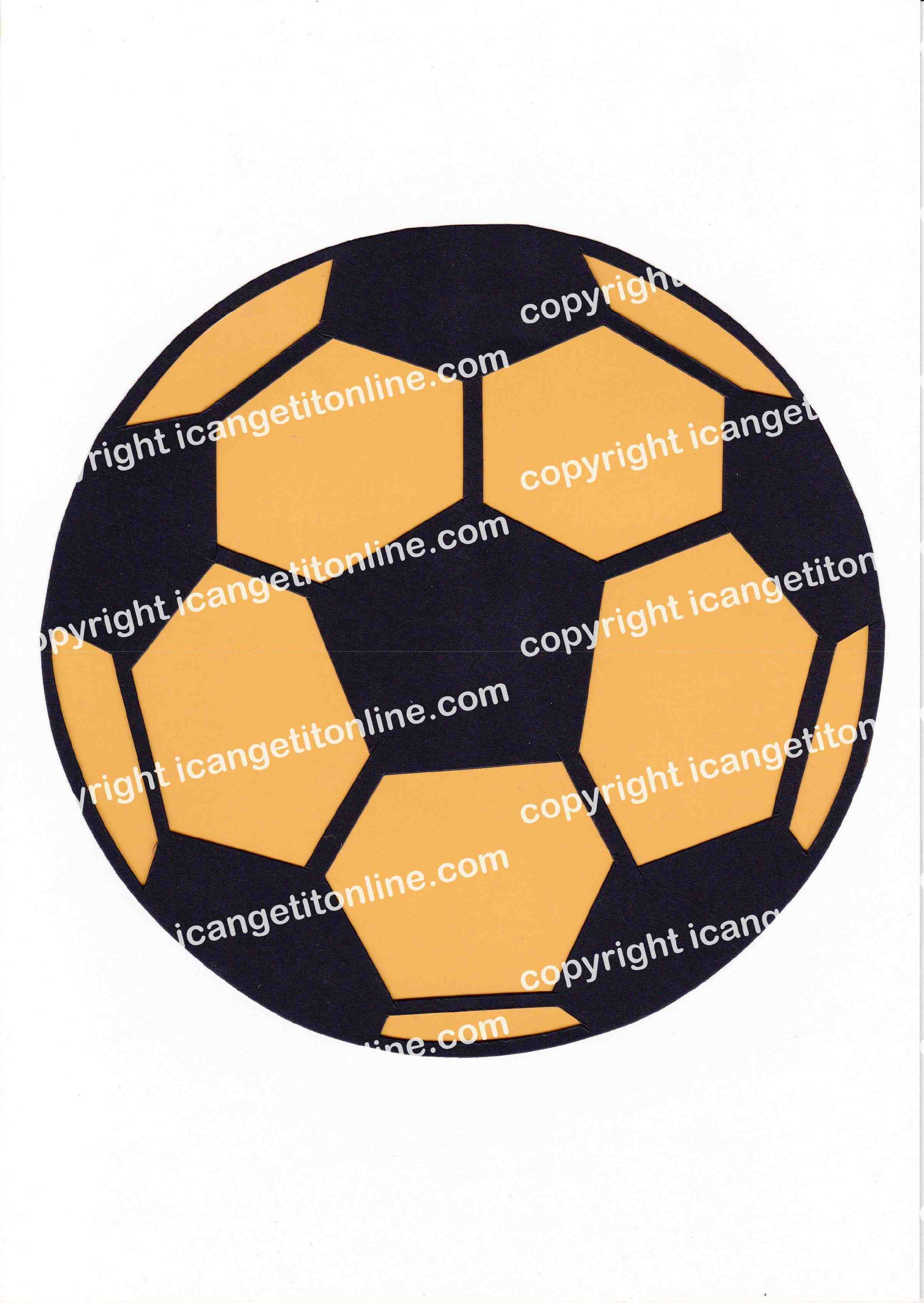 Football Set - Yellow Strip - <B>WATERMARK NOT ON PURCHASED SET</B> 300 Pages to Download