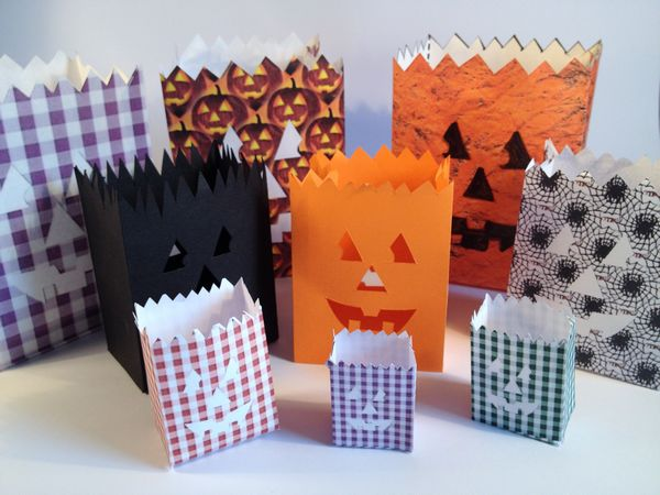Halloween Bag Set - 74 Pages to Download