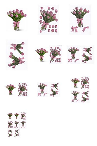 Pink Tulip in a Vase Project - 10 Pages to Download