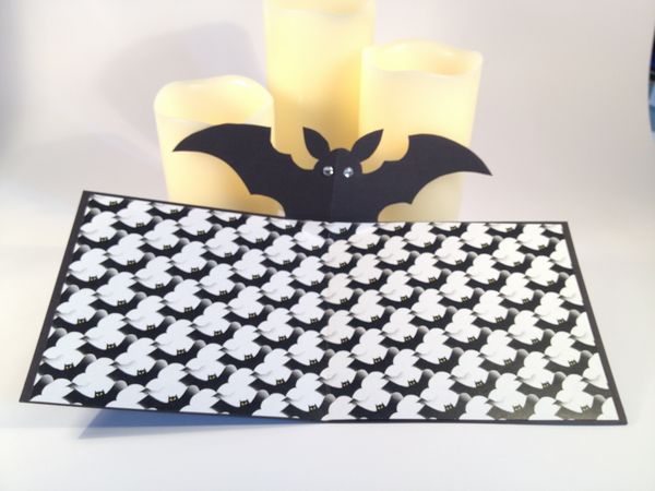 Halloween Pop Up Bat Card Set - 24 Pages to Download