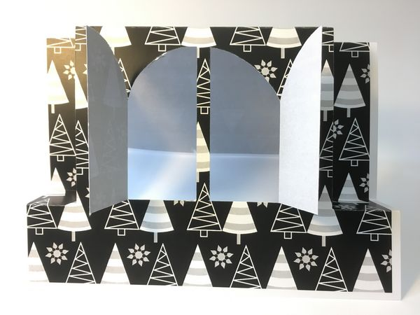 Set 25 - Stunning Templates - <b>Stepper with Arch Window Template Set</b> 6 Sizes to Download