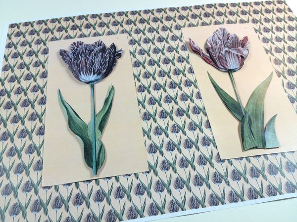 GET CREATIVE FREE PROJECT 7/4/18 Spring Tulip Project 05 - 9 Pages to Download