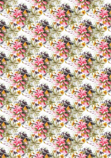 Vintage Floral Background Papers - 16 Pages to DOWNLOAD