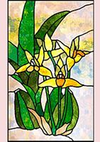 Stained Glass Effect Set 07 Decoupage - 1 x A4 Page to DOWNLOAD