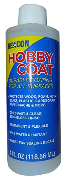 Hobby Coat 118ml - Dries Fast and Clear
