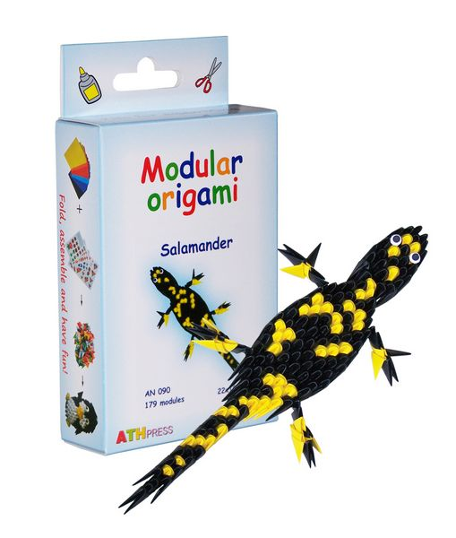 Modular Origami Kits - Snake, Scorpion and Salamander