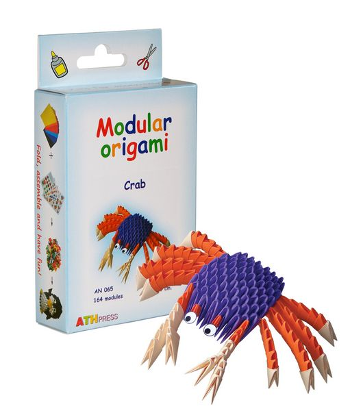 Modular Origami Kits - Turtle, Fish and Crab