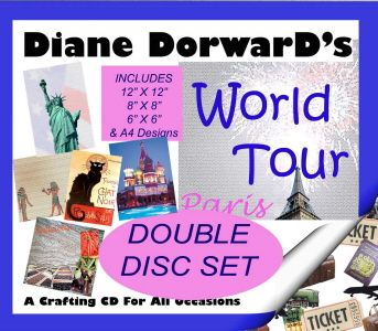 Diane Dorward's World Tour Double CD