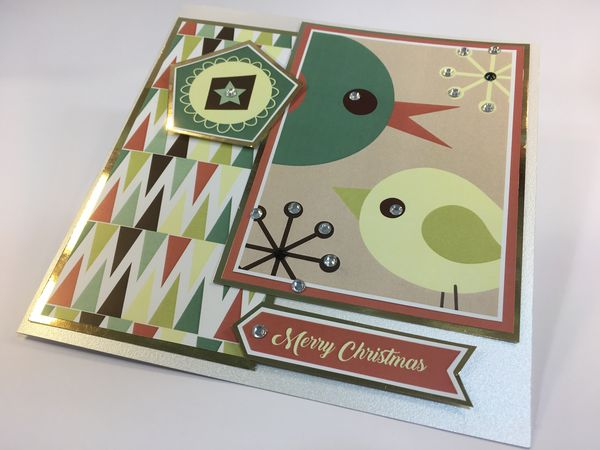 Set 03 Stunning Christmas Creations - <b>Christmas Baubles and Birds</b> - 99 Pages to Download