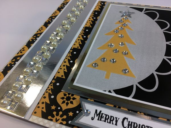 Set 04 Stunning Christmas Creations - <b>Christmas Black and Gold</b> - 84 Pages to Download