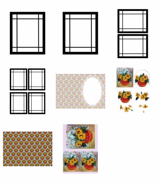 Stained Glass Effect Project 30 Download - 5 Pages