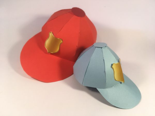 FB 3D Cap Templates - 6 Sizes to Download